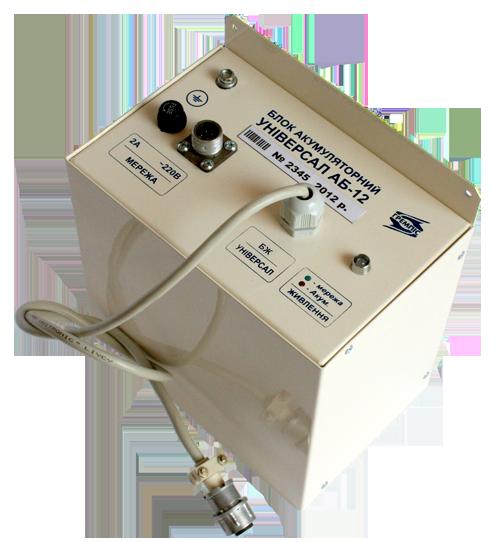 Зовнішній акумуляторний блок живлення АБ12
